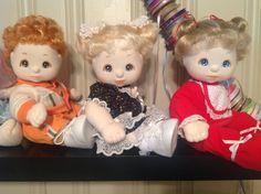 My child dolls restored