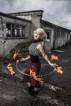 Competition Show 92 Home of Poi for all your LED Poi, Fire Poi and Juggling Supplies. View competition entry - Valerian Entertainments Fire Pixie by Gemma Louise Williams. Dark Circus, Circus Art, Circus Clown, The Circus, Circo Steampunk, Steampunk Circus, Circo Vintage, Art Vintage, Circus Photography