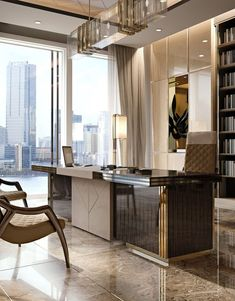 Office Table Design, Office Space Design, Modern Office Design, Office Furniture Design, Office Interior Design, Luxury Interior Design, Home Office Decor, Modern Office Table, Office Designs