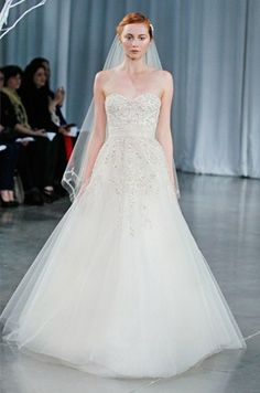 Monique Lhuillier Monique Lhuillier, Fall 2013 Wedding Dresses || Colin Cowie Weddings