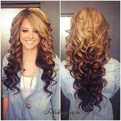 Sensational 1000 Images About Homecoming On Pinterest Prom Hair Curls And Hairstyles For Women Draintrainus
