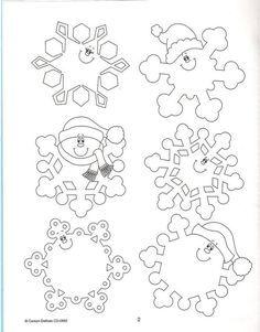снежинка jdtxrf шаблон - Поиск в Google Christmas Snowflakes, Christmas Colors, Winter Christmas, Christmas Holidays, Christmas Decorations, Christmas Ornaments, Christmas Projects, Holiday Crafts, Holiday Fun