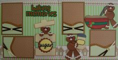 Baking Scrapbook Pages - Bing images Scrapbook Page Layouts, Scrapbook Pages, Christmas Scrapbook, Christmas Gingerbread, Cloud 9, Paper Piecing, Bing Images, Projects To Try, Memories