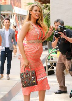 Blake Lively Looks Like A Damn Goddess Walking Down The Streets Of NYC