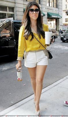 Kourtney K...OBSESSED with her style.