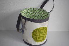 Tragetaschen - Markttasche große runde Tasche - ein Designerstück von Naehwittchen bei DaWanda
