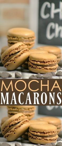 This mocha macaron recipe is perfect for people who love coffee flavored desserts... hmmm.... let me see if I can think of anyone like that....  ;-)