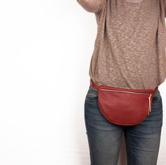 Leather Fanny pack, women fanny, Leathet waist bag, Hip bag, leather bumb bag, belt bag, waist bag, cute, festival fanny pack, ustily bag
