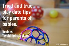 First time play date tips for parents. Good stuff!