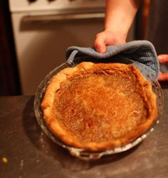 Maple Sugar Pie Recipe | SAVEUR