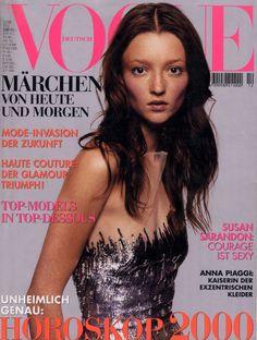 Audrey Marnay Vogue Deutsch December 1999