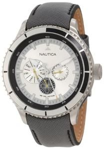 Nautica Men's N18661G BFD 200 Multi 50MM Classic Analog Watch