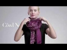 Как красиво завязать платок на шее: 34 фото идеи, видео