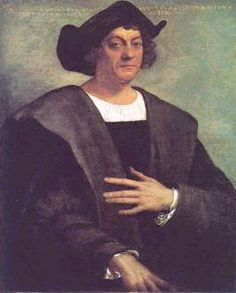 Christopher Columbus.  From http://xenohistorian.faithweb.com/latinam/