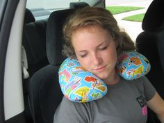 Travel-size Neck Pillow by Stacy Schlyer