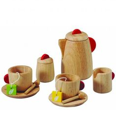 Plan Toys Solid Wood Tea Set | Can't stand the last-minute hunt for a party present? Stock up on these no-fail picks, and you'll never have to scramble again.