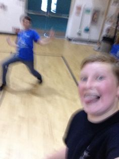 Blurry awesome selfie