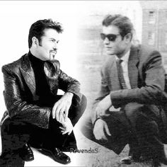 George and his dad George Michael Died, George Michael Music, Michael Love, Good Looking Men, Beautiful Soul, Music Is Life, Superstar, Sexy Men, How To Look Better