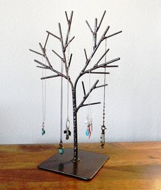 Welded Tree Jewelry Display