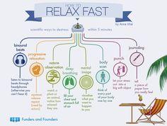 Formas de relaxar em 5 minutos