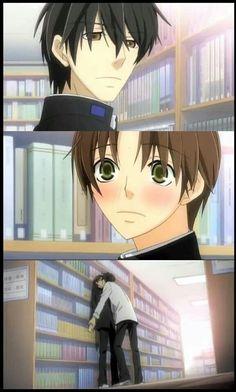So kawaii~ I need to watch Sekai Ichi Hatsukoi over again <3 Ritsu x Saga (Takano)