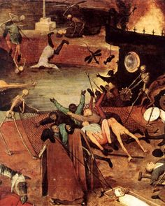 gabriel-romero81: by Pieter Bruegel the Elder - The Triumph of...