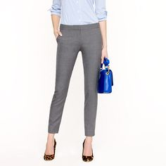 Paley Pant In Super 120s. $118. http://www.jcrew.com/womens_category/suiting/super120s/PRDOVR~52331/52331.jsp