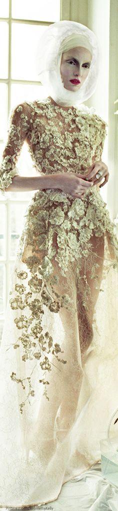 Elie Saab Haute Couture S/S 2013 | Vogue Ukraine