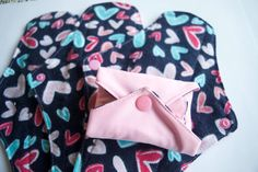 SALE Set of 4 Cloth Pads Reusable Cloth by JuliansBoutique on Etsy