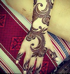 Arabic  Henna designs for lades
