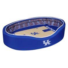 Stadium Crib Pet Bed - Kentucky Wildcats - Rupp Arena - Large