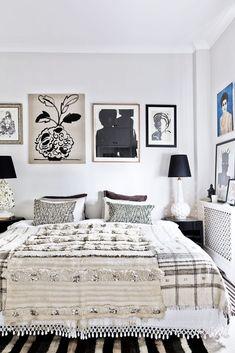 Chez Malene Birger à Londres - chambre