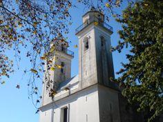 Igreja Matriz do Santíssimo Sacramento, a mais antiga do Uruguai em Colônia do Sacramento.