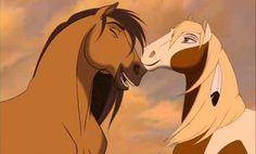Spirit and Rain from Spirit Stallion of the Cimarron I know it's not Disney but I love this movie Spirit The Horse, Spirit And Rain, Dreamworks Movies, Disney And Dreamworks, Ocelot, Ghibli, Horse Movies, Childhood Movies, Disney Animation