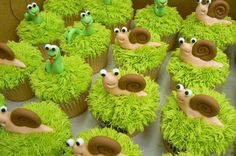 The Grass is Always Greener Cupcakes