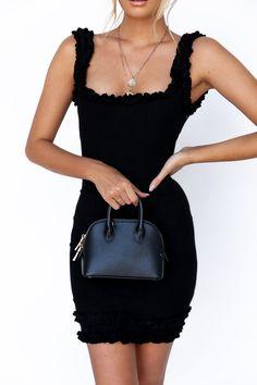 Vogue Dress - Black