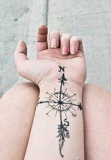 compass tattoo - Where can I go to from your Spirit? Psalm 139    I think I need to start doodling my ideas of compasses, feather, and anchors/rope together.