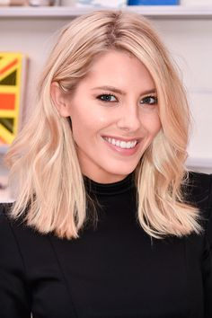 Mollie King Opts For Relaxed Waves, 2015