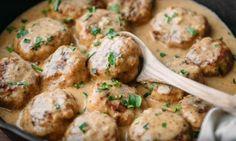 Boulettes... poulet et riz