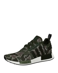 premium selection 98df2 52670 Adidas Men s NMD R1 Camo Knit Trainer Sneaker Adidas Camo Schuhe, Nike  Schuhe, Nmd R1