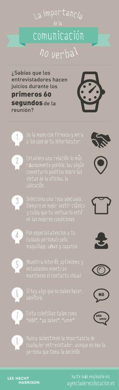 El #LenguajeNoVerbal en las #EntrevistasDeTrabajo. #ImagenPública