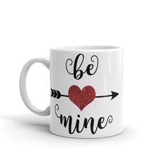 Items similar to Valentine's Day Mug, Ceramic coffee mug, Valentine Mug, unique coffee Valentine's day gift, valentine gift for him or her Mug on Etsy Romantic Gifts For Him, Diy Gifts For Him, Valantine Day, Mr Mrs Mugs, Friend Mugs, Cute Coffee Mugs, Valentines Day Gifts For Him, Mug Designs, Creative Gifts