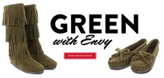 Green with envy for the Limited Edition Loden 3 Layer for Fall!