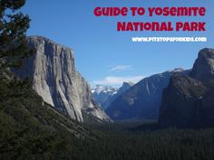Yosemite National Park travel tips: where to stay, what to see, when to go to one of America's busiest #nationalparks #yosemite