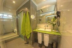 Standard Bathroom with rain effect shower