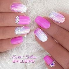 "190 Likes, 2 Comments - BrillBird Official (@brillbird_official) on Instagram: ""#brillbird #nail #nails #nailart #nailtrend #nailaddict #nailartist #nailsforyou #unghie #spring…"""