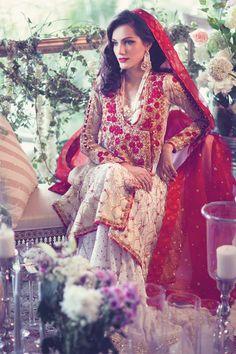 Aliya Asad — pakistanifashionedits:  Designer: Farah Talib Aziz...