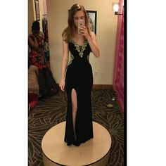 Sexy Mermaid Chiffon Prom Dresses Crystals beaded Floor Length Party Dress…
