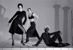 Wallpaper Magazine, Next Top Model, Ladies Of London, Image Makers, Fashion Story, Editorial Fashion, Goth, Spring Summer, Glamour