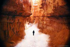 Navajo Trail in Bryce Canyon National Park, Utah